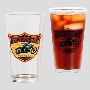 Speedy Speedsters Drinking Glass