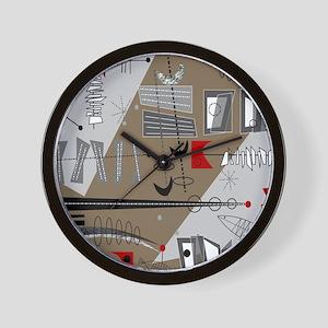 Mid-Century Modern Design Wall Clock