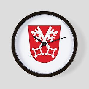 Regensburg Coat of Arms Wall Clock