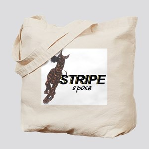 C StripeAPose Tote Bag