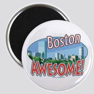 Awesome Boston Magnet