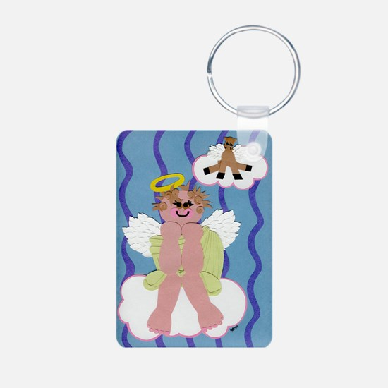 Bitty Angel Keychains