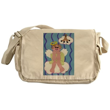 Bitty Angel Messenger Bag