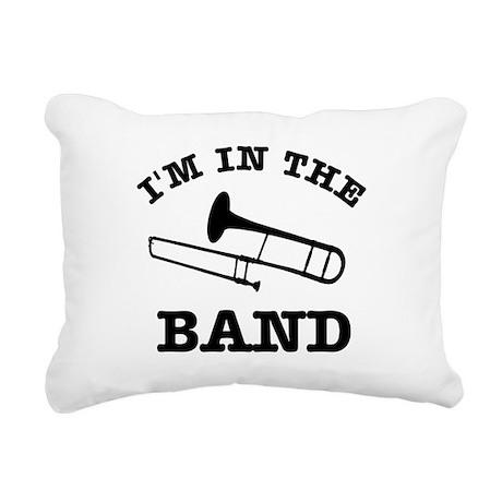 Trombone Gift Items Rectangular Canvas Pillow