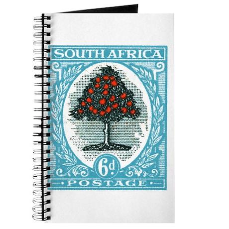 1947 South Africa Orange Tree Postage Stamp Journa