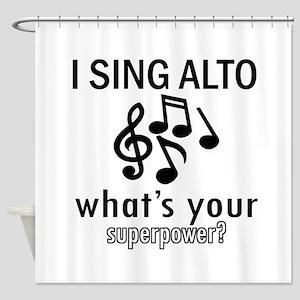 Cool Alto Designs Shower Curtain