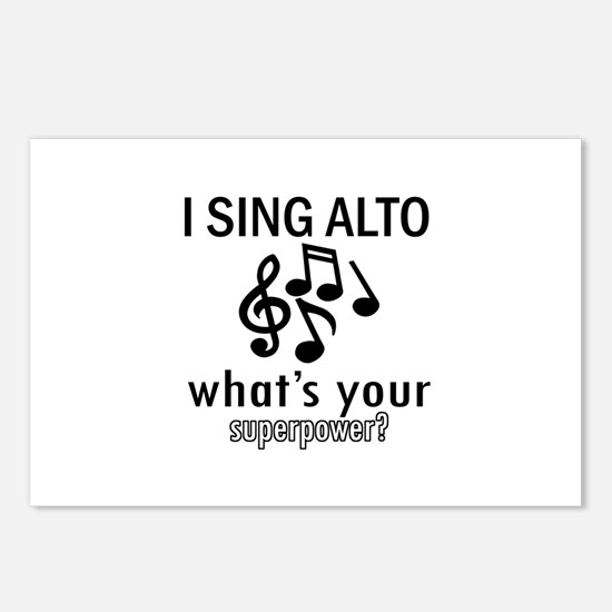 Cool Alto Designs Postcards (Package of 8)