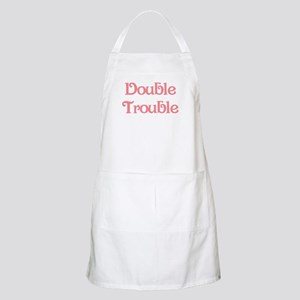 Double Trouble Pink BBQ Apron