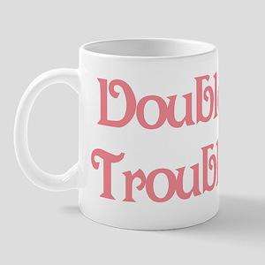 Double Trouble Pink Mug