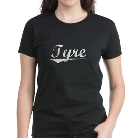 Aged, Tyre Women's Dark T-Shirt