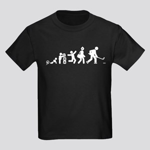 Ice Hockey Kids Dark T-Shirt