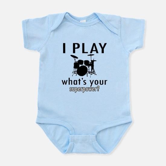 Cool Drums Designs Infant Bodysuit