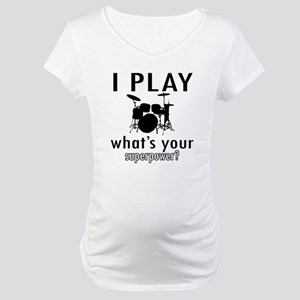 Cool Drums Designs Maternity T-Shirt