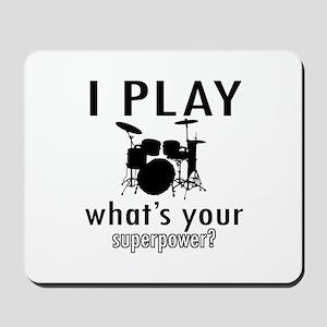 Cool Drums Designs Mousepad