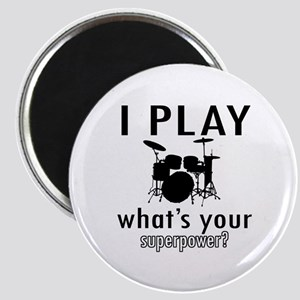 Cool Drums Designs Magnet