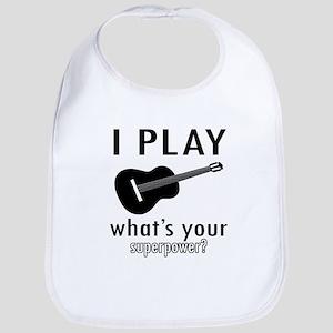 Cool Guitar Designs Bib