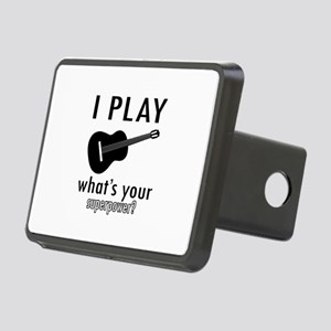 Cool Guitar Designs Rectangular Hitch Cover