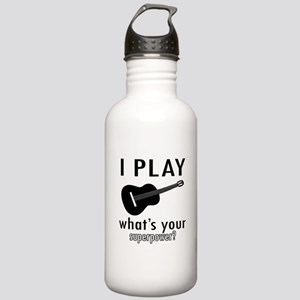 Cool Guitar Designs Stainless Water Bottle 1.0L