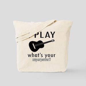 Cool Guitar Designs Tote Bag