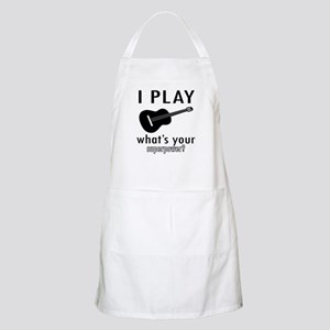 Cool Guitar Designs Apron
