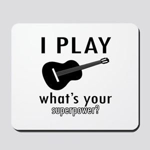 Cool Guitar Designs Mousepad