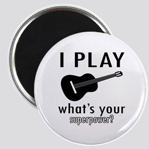 Cool Guitar Designs Magnet