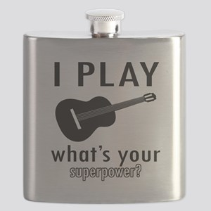 Cool Guitar Designs Flask
