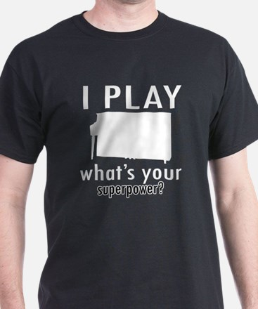 Cool Piano Designs T-Shirt