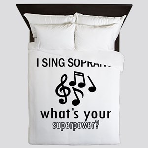 Cool Soprano Designs Queen Duvet