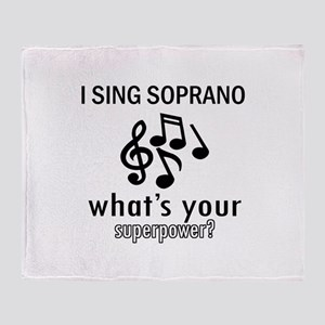 Cool Soprano Designs Throw Blanket