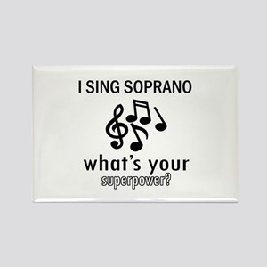 Cool Soprano Designs Rectangle Magnet