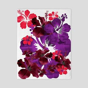 Hibiscus Twin Duvet Cover