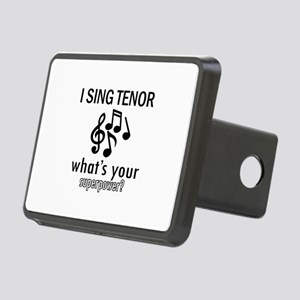 Cool Tenor Designs Rectangular Hitch Cover