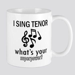 Cool Tenor Designs Mug