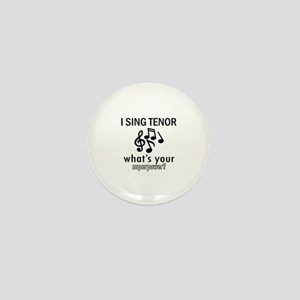 Cool Tenor Designs Mini Button