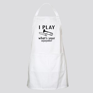 Cool Trombone Designs Apron