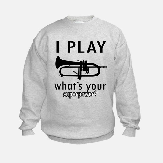 Cool Trumpet Designs Sweatshirt