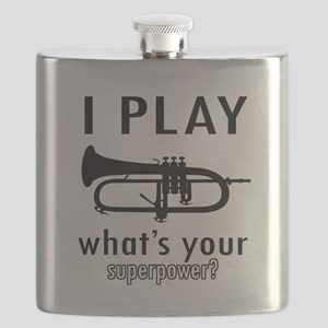 Cool Trumpet Designs Flask