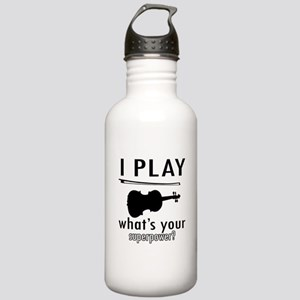 Cool Violin Designs Stainless Water Bottle 1.0L