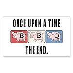 BBQ Fairy Tale Sticker (Rectangle 50 pk)
