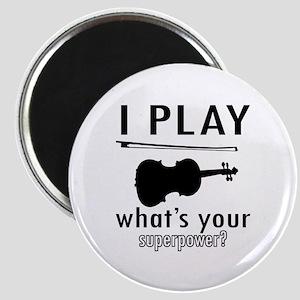 Cool Violin Designs Magnet