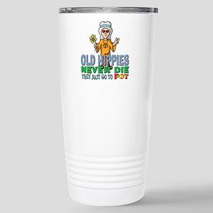 Hippies Stainless Steel Travel Mug