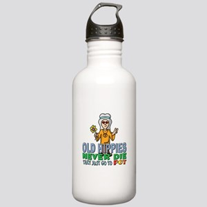 Hippies Stainless Water Bottle 1.0L