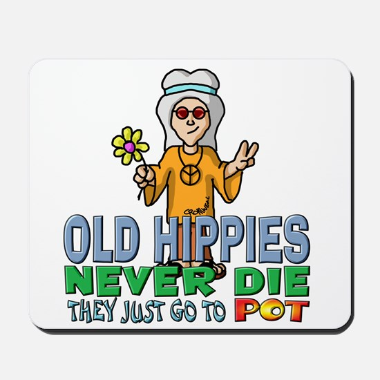 Hippies Mousepad