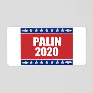 Sarah Palin 2020 Aluminum License Plate