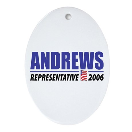 Andrews 2006 Oval Ornament