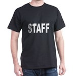 Staff (Front) Black T-Shirt