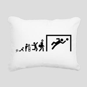 Goalkeeper Rectangular Canvas Pillow