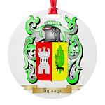 Aginaga Round Ornament