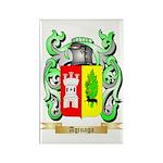 Aginaga Rectangle Magnet (100 pack)